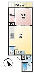 第3明智ビル[2階]の間取り