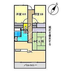 サーパス高須一番館[5階]の間取り
