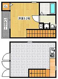 R-BOX tsubuku I[1階]の間取り