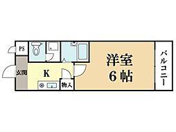 M'プラザ大住壱番館[5階]の間取り