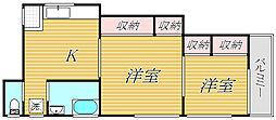 マキハウス[2階]の間取り