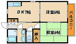 アドバンス[1階]の間取り