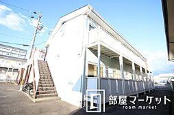 愛知県豊田市錦町1丁目の賃貸アパートの外観