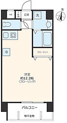 JR京浜東北・根岸線 大宮駅 徒歩5分の賃貸マンション 1階ワンルームの間取り