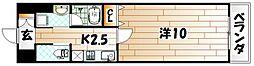 リード室町[9階]の間取り