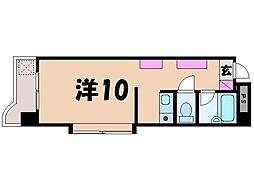アメニティユー[4階]の間取り