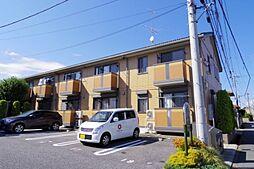 茨城県牛久市栄町6丁目の賃貸アパートの外観