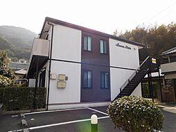 福岡県北九州市八幡西区元城町の賃貸アパートの外観