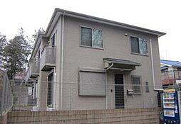 千葉県市川市中山2の賃貸アパートの外観