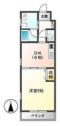 will Do伏見[6階]の間取り