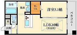 第21関根マンション[3階]の間取り