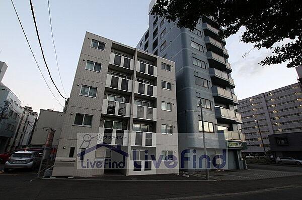 北海道札幌市豊平区豊平一条1丁目の賃貸マンションの外観