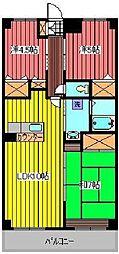エトワールテラ[2階]の間取り