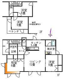 JR根室本線 札内駅 徒歩11分 4LDKの間取り