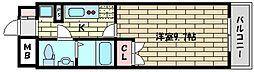 兵庫県神戸市東灘区魚崎中町3丁目の賃貸マンションの間取り