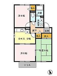 ミキハウス A[1階]の間取り
