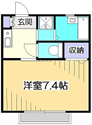 West House[1階]の間取り