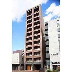 北海道札幌市北区北十八条西4丁目の賃貸マンションの外観