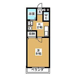 セレニール和合[1階]の間取り