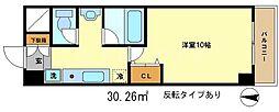 メディナ丹波口[6階]の間取り