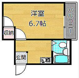 デベロップメント[2階]の間取り
