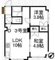 リバストーリー[4階]の間取り