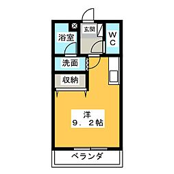 KEYAKI PALACE[2階]の間取り