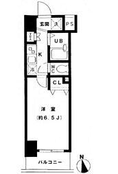 スカイコート新宿落合南長崎駅前[2階]の間取り