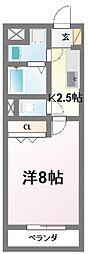 プリムラ[2階]の間取り