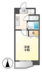 グランディール名駅[2階]の間取り
