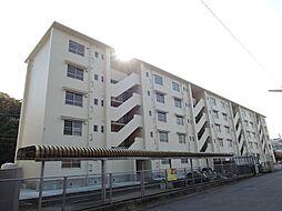 福岡県中間市大辻町の賃貸マンションの外観