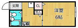 アメニティハイム香里[2階]の間取り