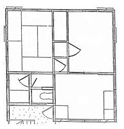 コーポ小柳[2階]の間取り