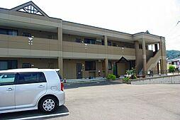 京都府木津川市加茂町里南里の賃貸アパートの外観