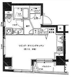 プレール・ドゥーク銀座EAST[2階]の間取り