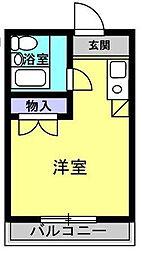 東京都北区王子2丁目の賃貸マンションの間取り