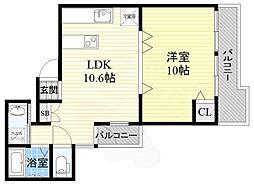 大阪環状線 福島駅 徒歩10分