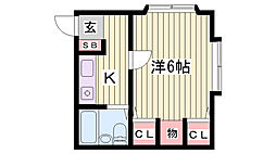 鈴蘭台駅 3.1万円