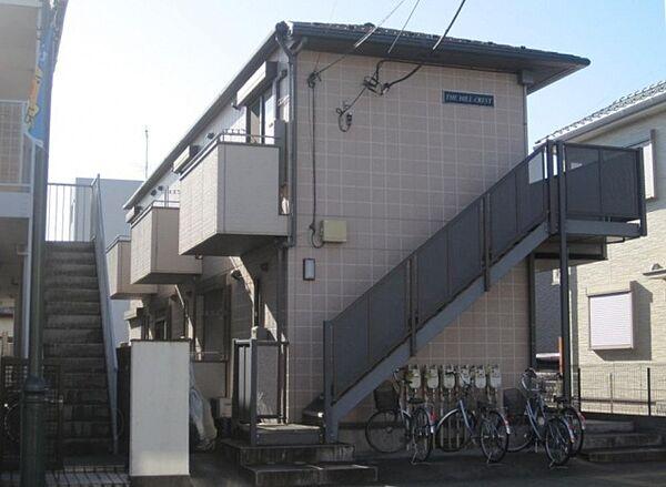 埼玉県川口市西青木3丁目の賃貸アパートの外観