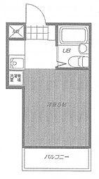 メゾン・ドゥ日野[4階]の間取り