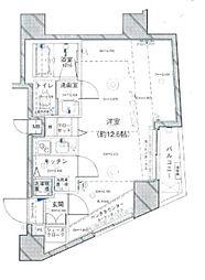 東京都港区六本木2丁目の賃貸マンションの間取り