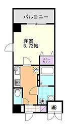 (仮)D-Room東高砂[201号室]の間取り