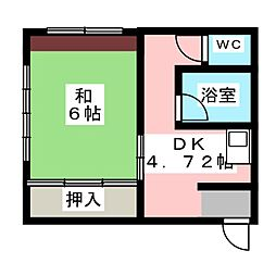 豊公ビル[1階]の間取り