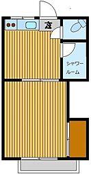 コーポマツキヨ[2階]の間取り