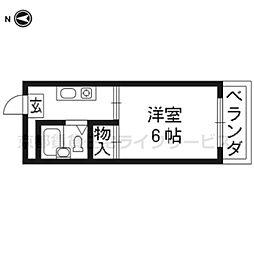 RICO1(ハイツ新川)[205号室]の間取り