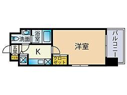 プレスタイル博多ノース[9階]の間取り