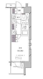 JR山手線 田町駅 徒歩11分の賃貸マンション 9階1Kの間取り