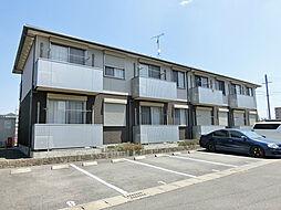 滋賀県湖南市平松北3丁目の賃貸アパートの外観