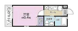 フォレスト新杉田[3階]の間取り