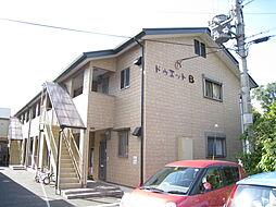 京都府木津川市木津清水の賃貸アパートの外観